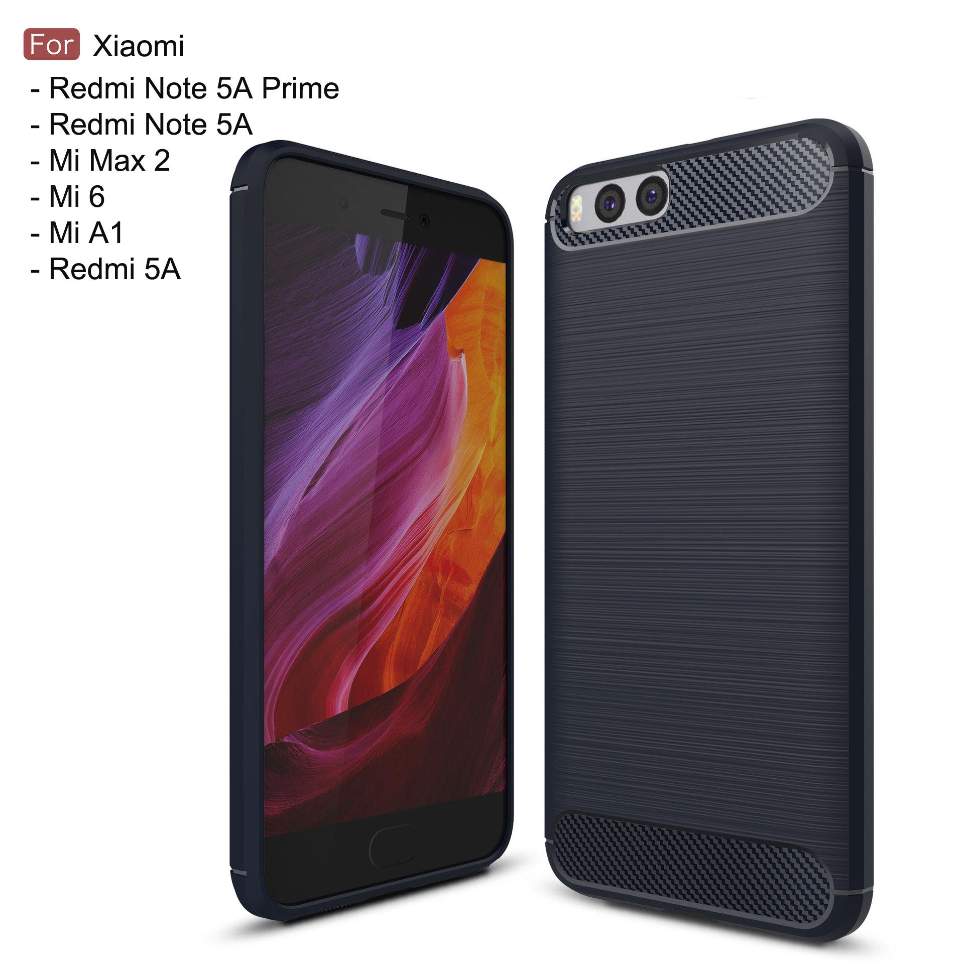 super popular d752c db7a8 Xiaomi Mi A1 Max 2 Mi 6 Redmi Note 5A Prime Redmi 5A TPU Soft Case Cov