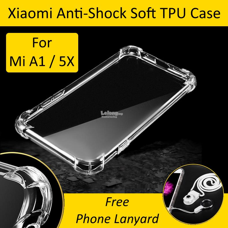 Best Review Of Softcase Silicon Jelly Case List Shining Chrome For Source · Xiaomi Mi A1