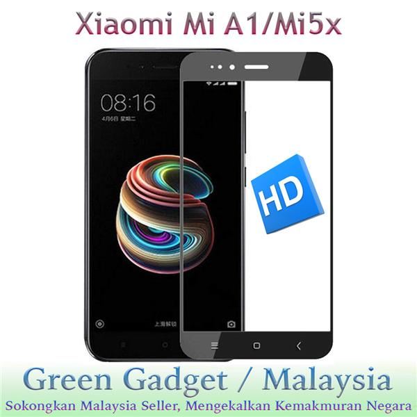 Xiaomi Mi A1/Mi5X Full Glue Screen Protector Tempered Glass