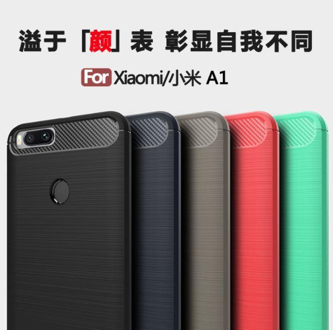 Xiaomi Mi A1 MIA1 Mi5X Durable Full Protection FIBER TPU Case
