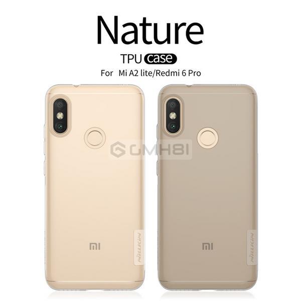 Xiaomi Mi A2 Lite Redmi 6 Pro Nillkin NATURE TPU Soft Slim Cover Case
