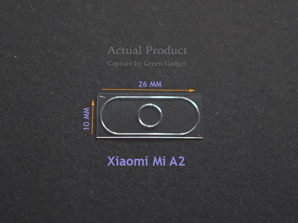 Xiaomi Mi A2 / Mi 6X Camera Protector Flexible Glass 2.5D