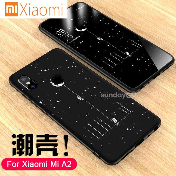 Xiaomi Mi A2 Starry Sky Black Tpu Case Soft Cover