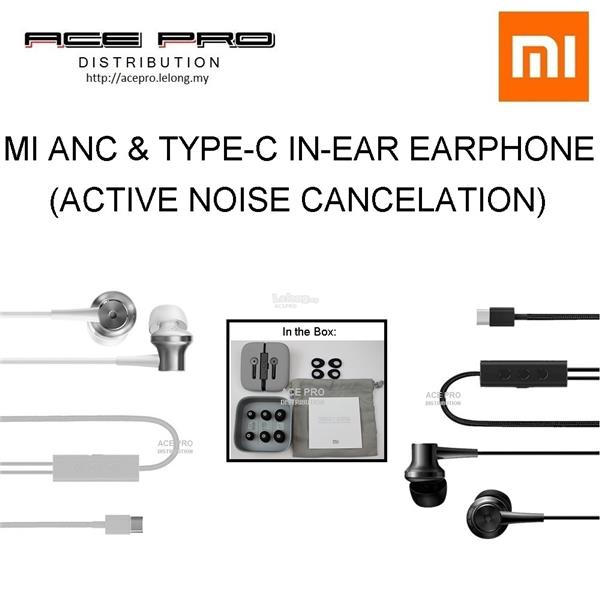 43099133003 XIAOMI Mi ANC (Active Noise Cancellation) & Type C In-Ear Earphone. ‹ ›