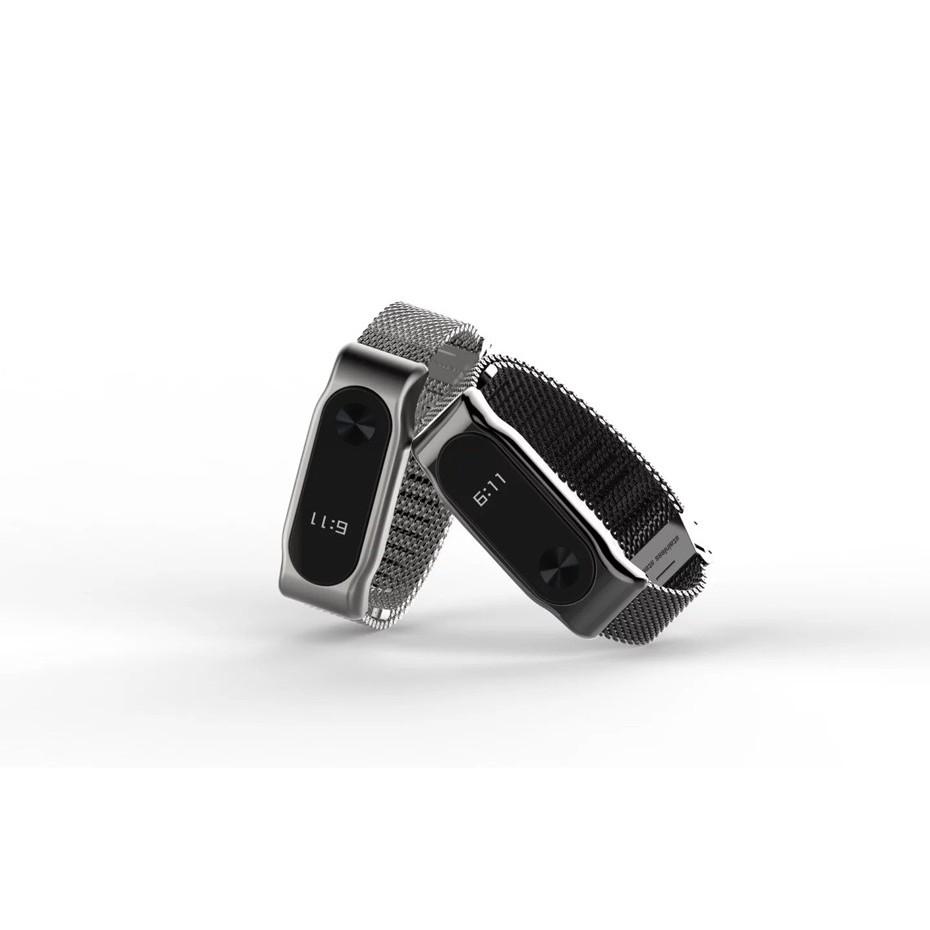 Xiaomi Mi Band 2 Screwless Stainles End 12 9 2020 1200 Am Stainless Steel Bracelet Metal Wrist Strap