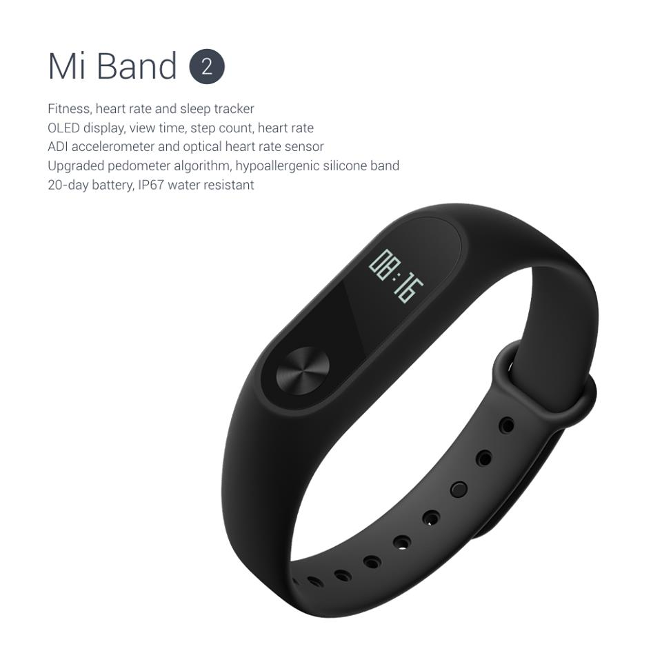 fc112dad3 Xiaomi Mi Band Miband 2 OLED Display Heart Beat Pulse XMSH04HM. ‹ ›