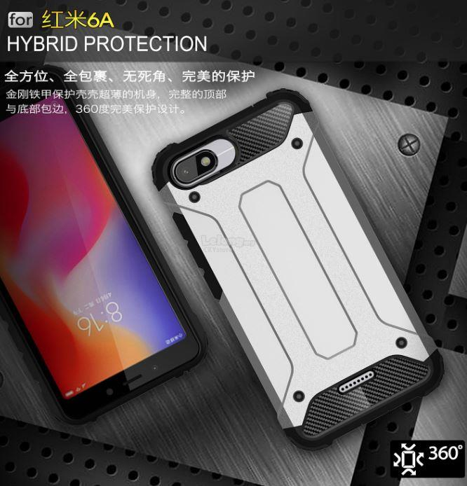 buy popular 81ddf ea585 XIAOMI MI MAX 3 REDMI 6 6A PRO MiA2 Lite CUSHION SHOCK ABSORPTION Case