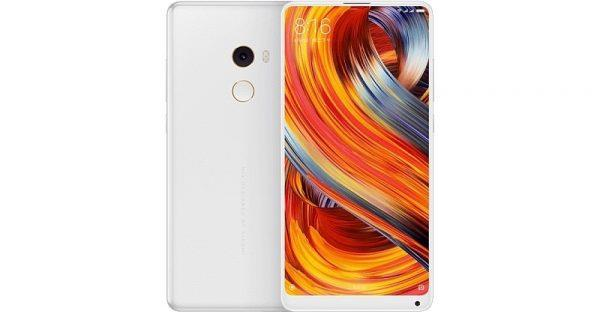 XIAOMI Mi Mix 2 (8GB RAM | 128GB ROM) Unibody Ceramic White