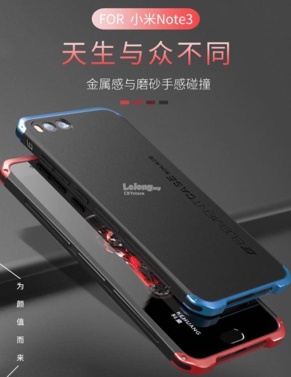 huge discount c4d79 b35d2 XIAOMI MI MIX 2 / Mi Note 3 Element Solace Metal Bumper Case