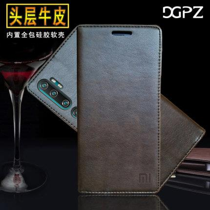 Xiaomi Mi Note 10 Pro CC9 Pro Cowhide real leather case casing cover