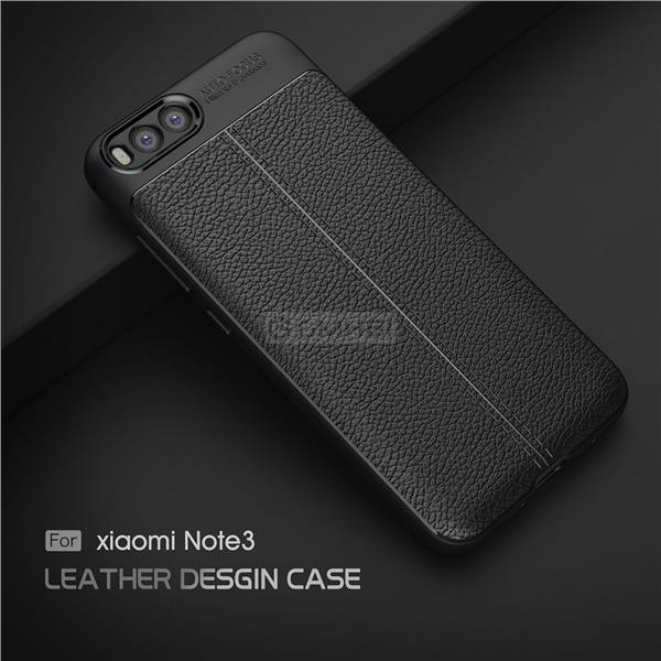 brand new 8db00 da60d Xiaomi Mi Note 3 LYCHEE Rugged Tough Slim Armor TPU Bumper Cover Case