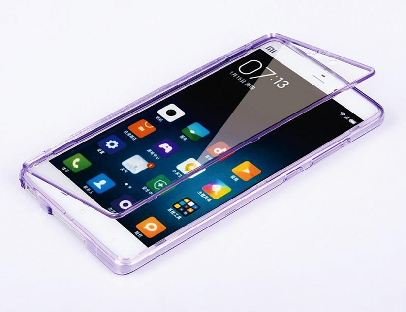 new arrival 69547 6093d Xiaomi Mi Note / Pro Transparent Flip Case Cover Casing + Free Gift