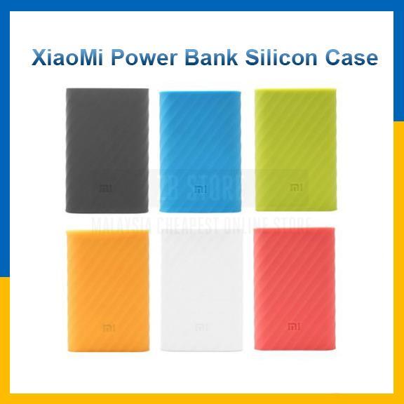 new products 2ba61 20d75 XiaoMi Mi Powerbank Silicon Case Cover Power Bank Silicone 10000mAh