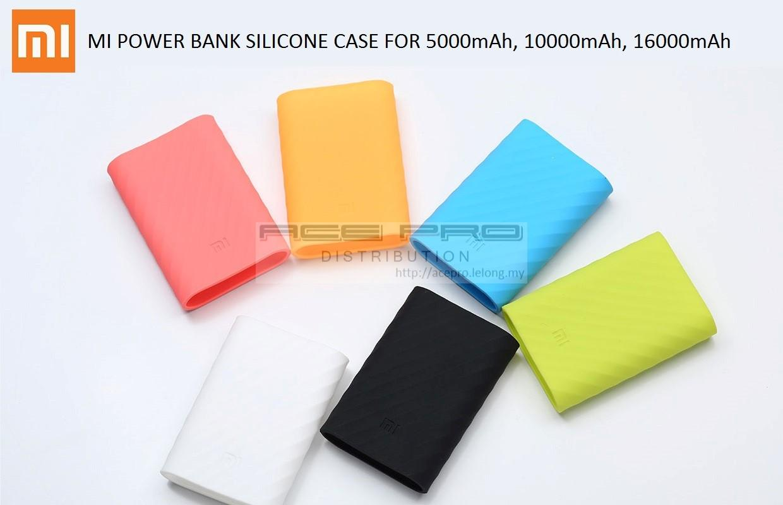 low priced e64b9 441d4 XiaoMi Mi PowerBank TPU Cover Case -Xiao Mi Power Bank Silicone Sleeve
