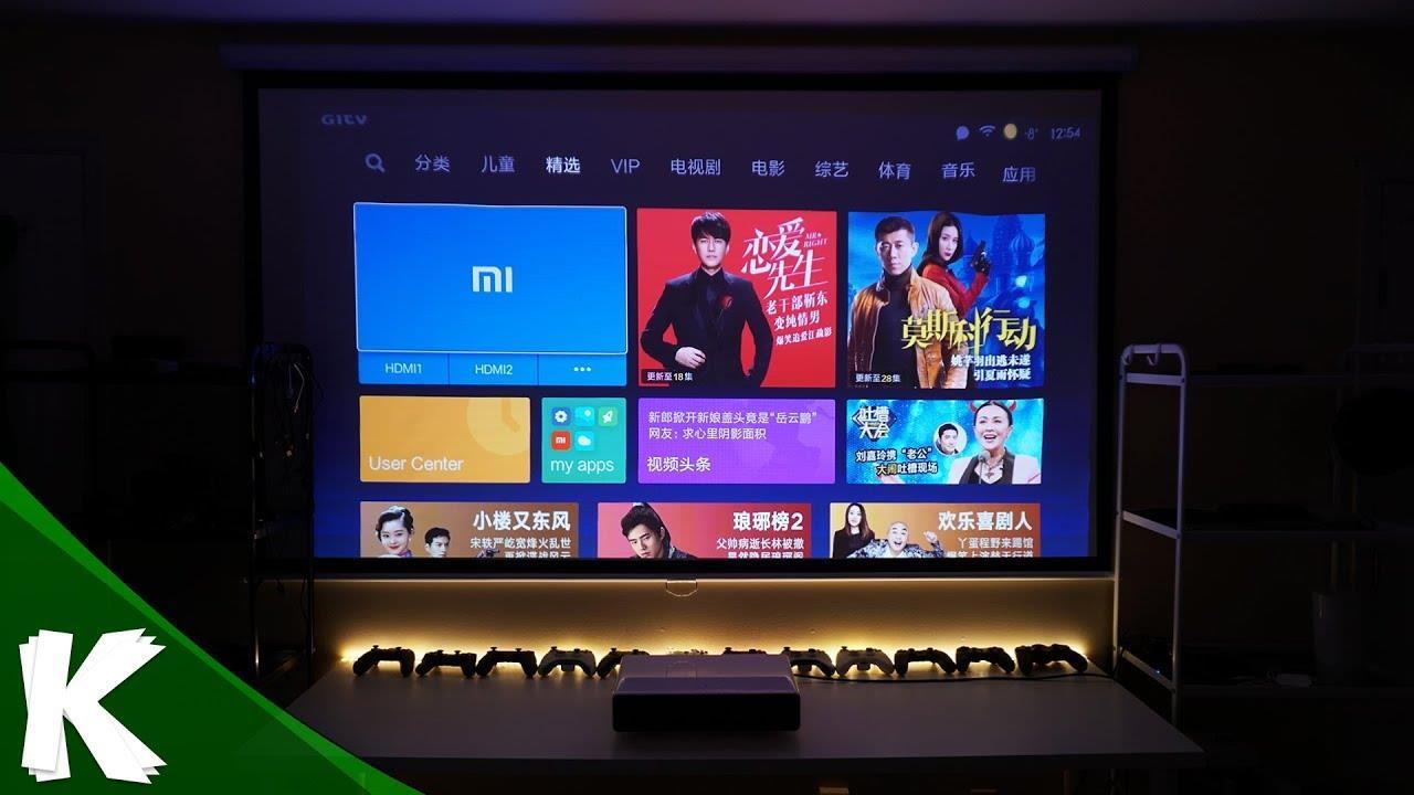 Xiaomi Mi Ultra Short 5000 ANSI Lumens Laser 4K 150' android Projector