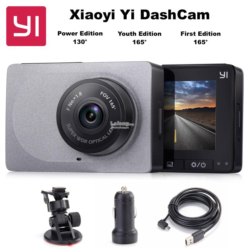 XIAOMI Mi XiaoYi Yi Smart Car DVR Wifi Camera DashCam *ENGLISH* ADAS