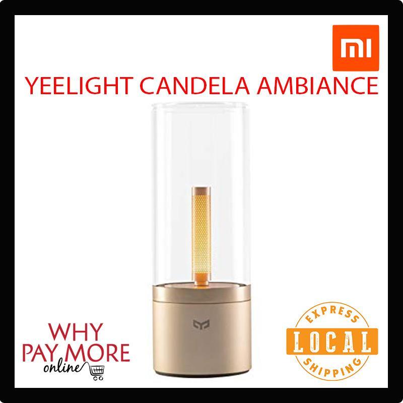 Xiaomi Mi Yeelight Ambiance Candela Atmosphere Bedside Lamp YLFW01YL