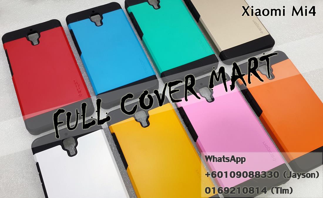 online retailer 77362 c3cf8 Xiaomi Mi3 Mi4 Redmi Note Redmi 1S Spigen SGP Slim Armor Back Case