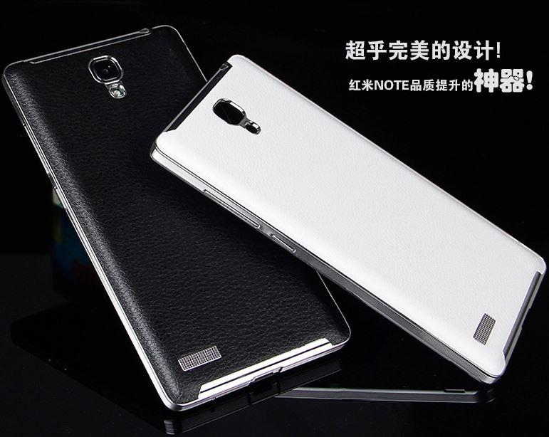 factory price 333fd d1344 XIAOMI Mi4 Mi4i Redmi 2 Note 2 4G PU Leather Note3 Style Battery Case