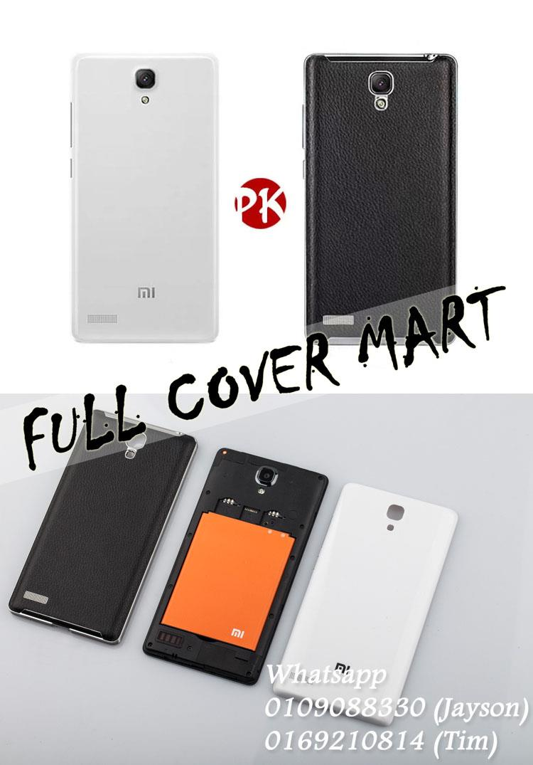 Redmi Note Battery Cover Price Harga In Malaysia Back Door Xiaomi 2 Tutup Belakang Xiomi Mi4 4g Leather Note3 Style Case