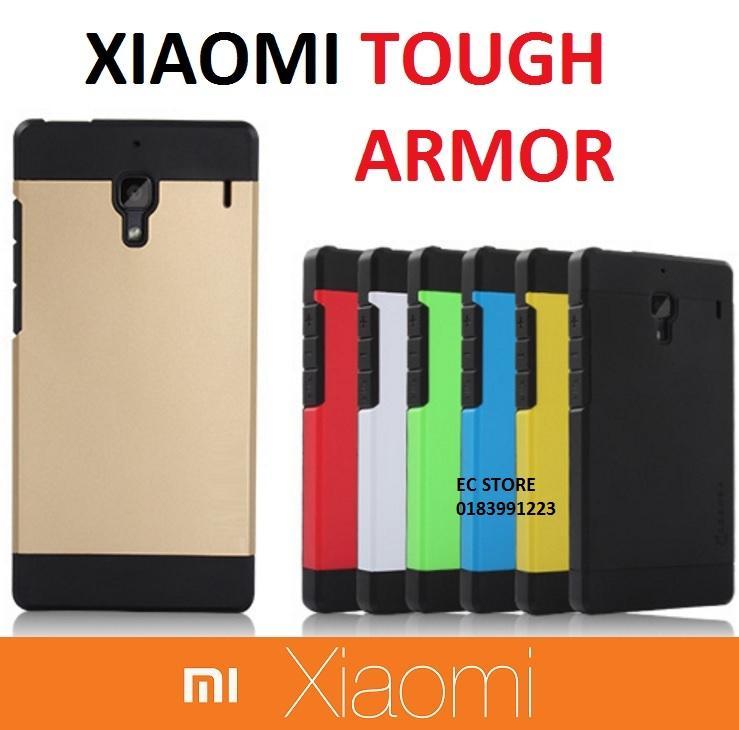 new concept 6b707 f79eb Xiaomi Mi4i Redmi Note 4G Spigen SGP Tough Armor Case Cover