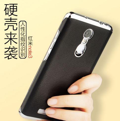 more photos 6bd5d 20e80 XIAOMI Mi4S Mi5 REDMI NOTE 3 PRO Ultra SLIM PLATING Leather Case Cover