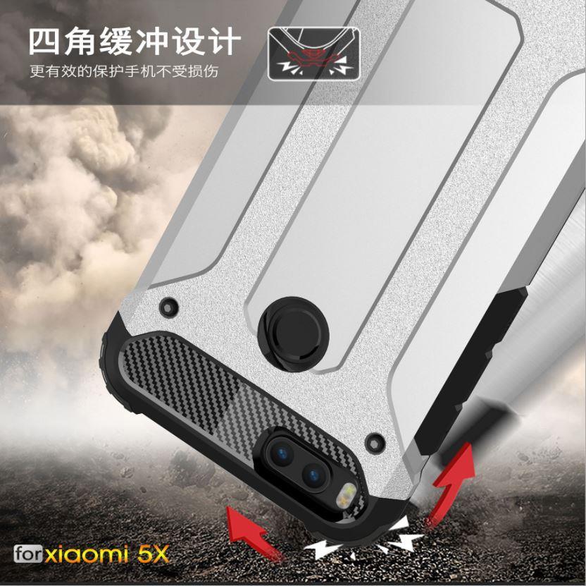 big sale 07b3c 08b14 XiaoMi Mi5x / Mi A1 Spigen Tough Armor Hybrid Shockproof Case Cover