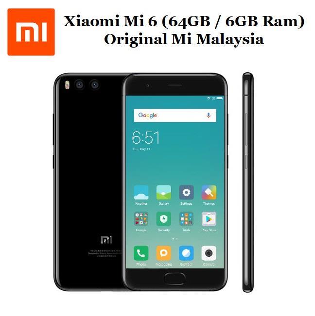 Xiaomi mi6 mi 6 515 64gb 6gb ram end 862018 415 pm xiaomi mi6 mi 6 515 64gb 6gb ram original mi malaysia stopboris Image collections