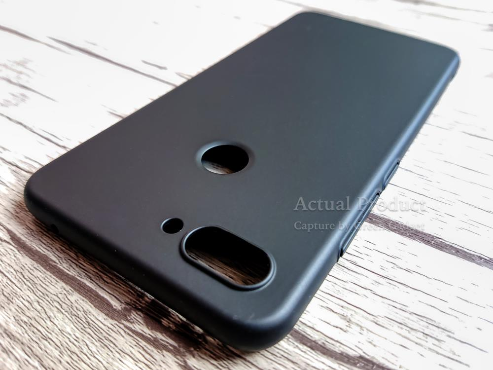 Xiaomi Mi8 Lite Case Cover Thin Fit Hard 硬壳(Black)