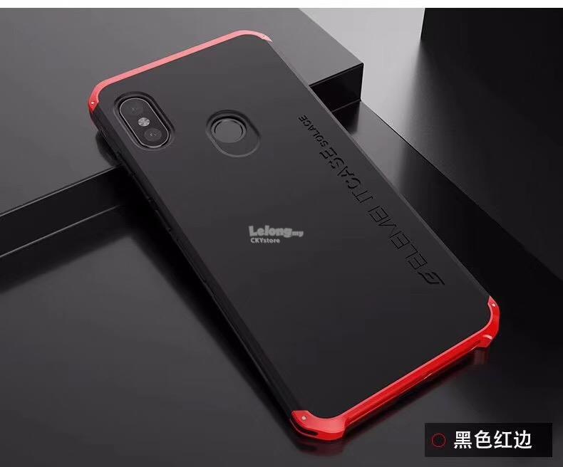 new concept 3540f e9b0c XIAOMI Mi8 / Redmi Note 7 5 6 PRO Element Solace Metal Bumper Case