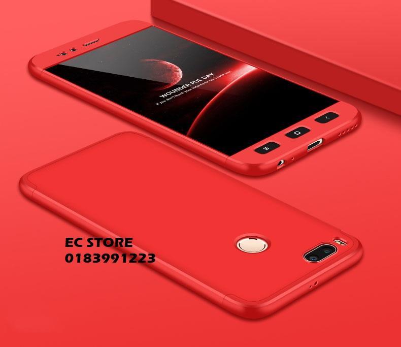 premium selection 6c7d1 8abc2 Xiaomi MiA1 Mi A1 360 FULL Protection Ultra Thin Hard Case
