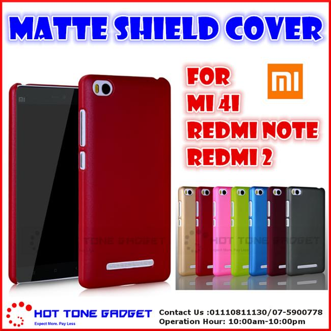 size 40 ccf41 b5bc8 Xiaomi MiA1 Mi5X Redmi Note 2 3 5Plus Matte Shield Back Cover Casing