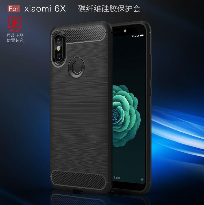 the latest 4cdf1 e9aca XiaoMi MiA2 Mi A2 / Mi A2 Lite Durable Carbon Fiber TPU Case Cover