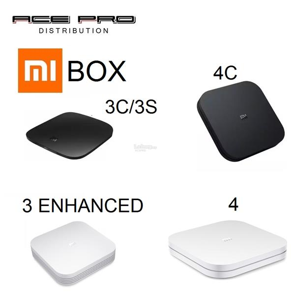 XIAOMI MIBOX 3C / 3S / 3 Enhanced / 4 / 4C - Mi TV Box 4K IPTV Movie