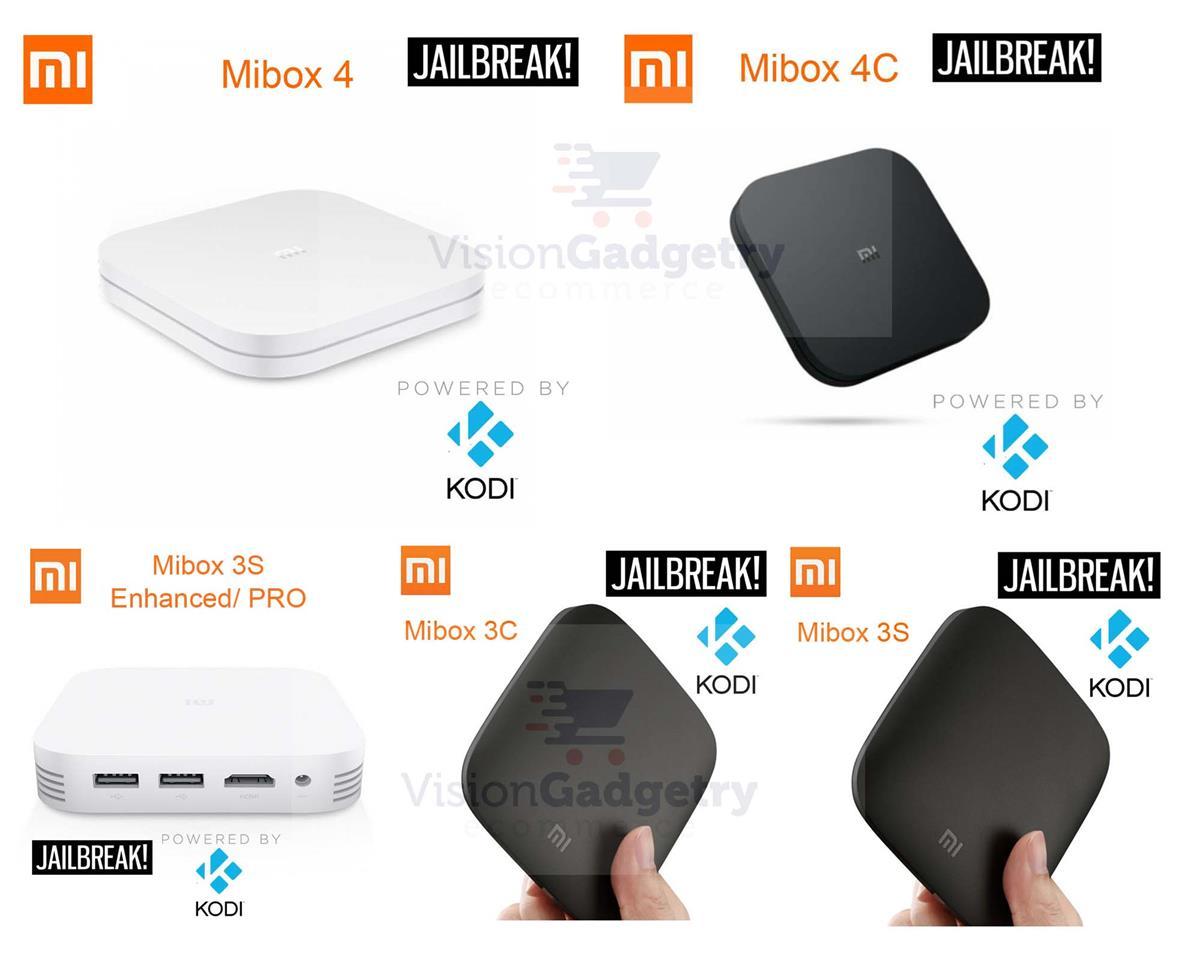 XiaoMi MiBox Box 3 PRO 4 4C 2018 64bit Android TV 4k HD KODI IPTV