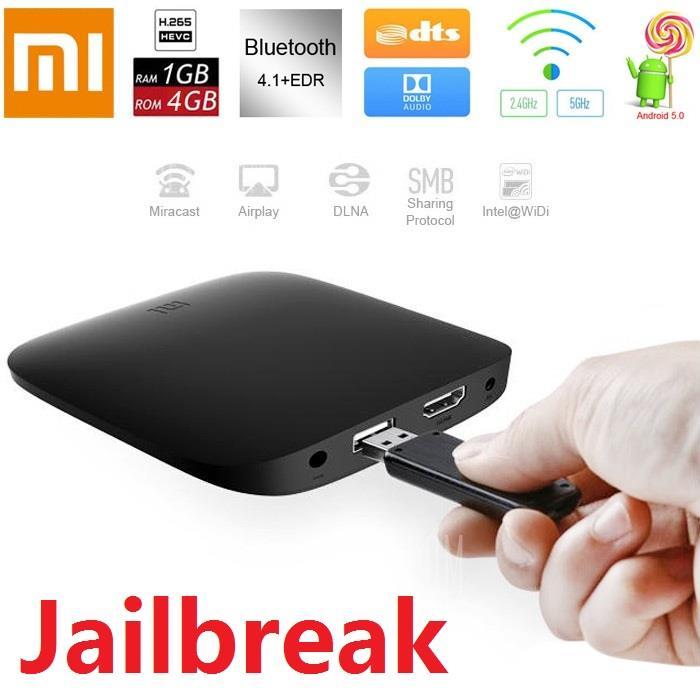 XiaoMi MiBox Box 5th Gen 64bit Android TV 4k HD UNLOCK IPTV