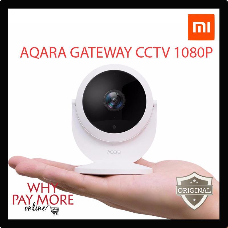 Xiaomi Mijia Aqara Smart IP Cam CCTV Alarm 1080P Gateway 180 Degree