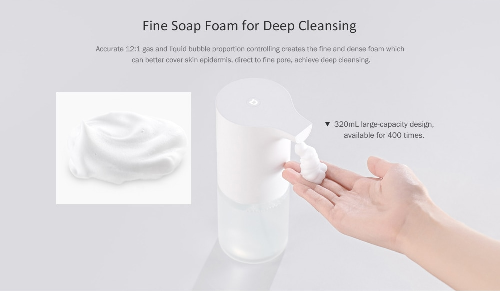 Xiaomi Mijia Automatically Touchless Soap Dispenser Hand Foaming Foam