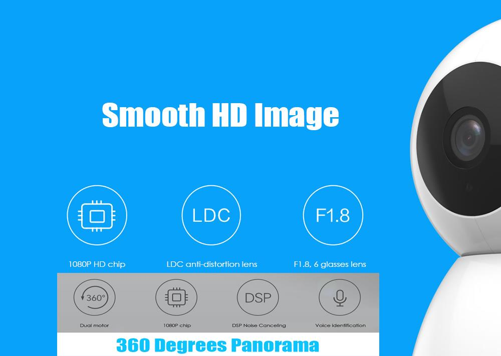 XiaoMI MIJIA Full HD 1080p 360° Rotation & Tilting Smart Camera