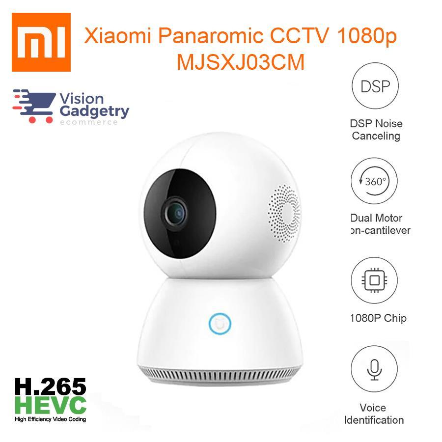 Xiaomi Mijia Smart Home IP Camera Cam CCTV 360° 1080p MJSXJ03CM