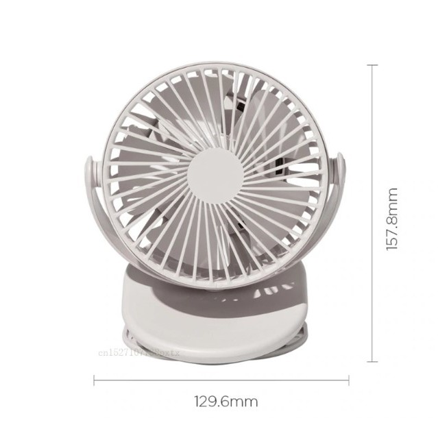 Xiaomi Mijia Solove Clip Fan F3 Portable Handheld Windshield 360 Degree Rechar