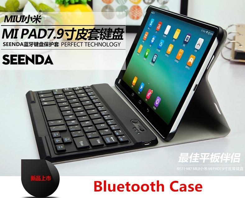 best service f0a70 a9b47 Xiaomi MIPAD mi pad 1 2 3 Bluetooth Keyboard Case Cover + Screen Prote