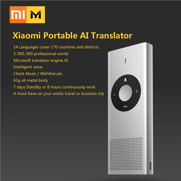 Xiaomi Moyu Konjac Ai Translator 14 Languages Perfect For Travel Study