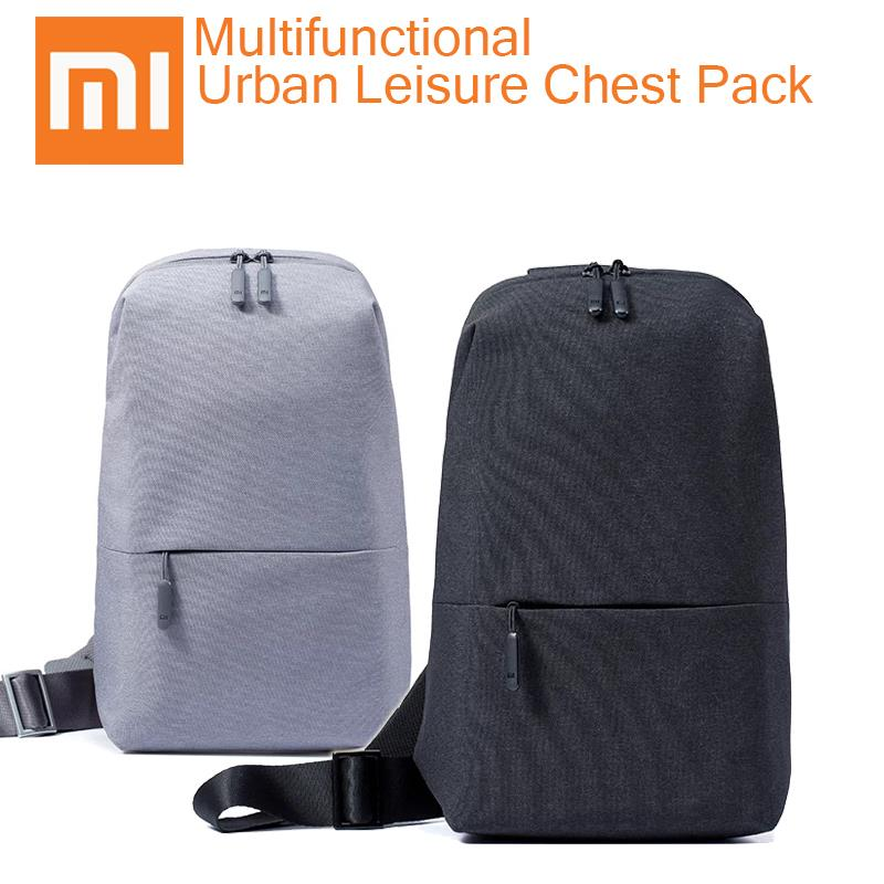 Xiaomi Original Mi Urban Chest Bag Leisure Pack Shoulder Bags