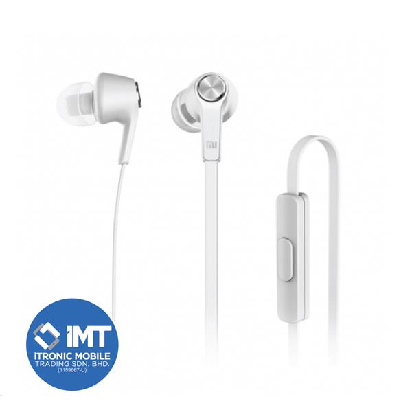 Xiaomi Original Piston Earphone Simple Version White Color Paper Box