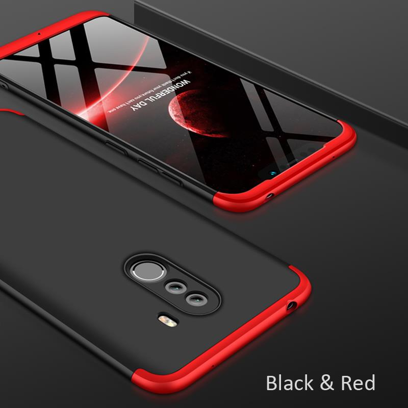 the best attitude 2d2f9 08813 Xiaomi Pocophone F1 360 FULL Protection Ultra Thin Hard Case