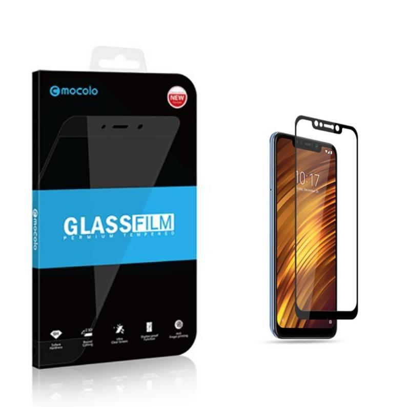 XIAOMI POCOPHONE F1 MOCOLO FULL SCREEN TEMPERED GLASS SCREEN PROTECTOR