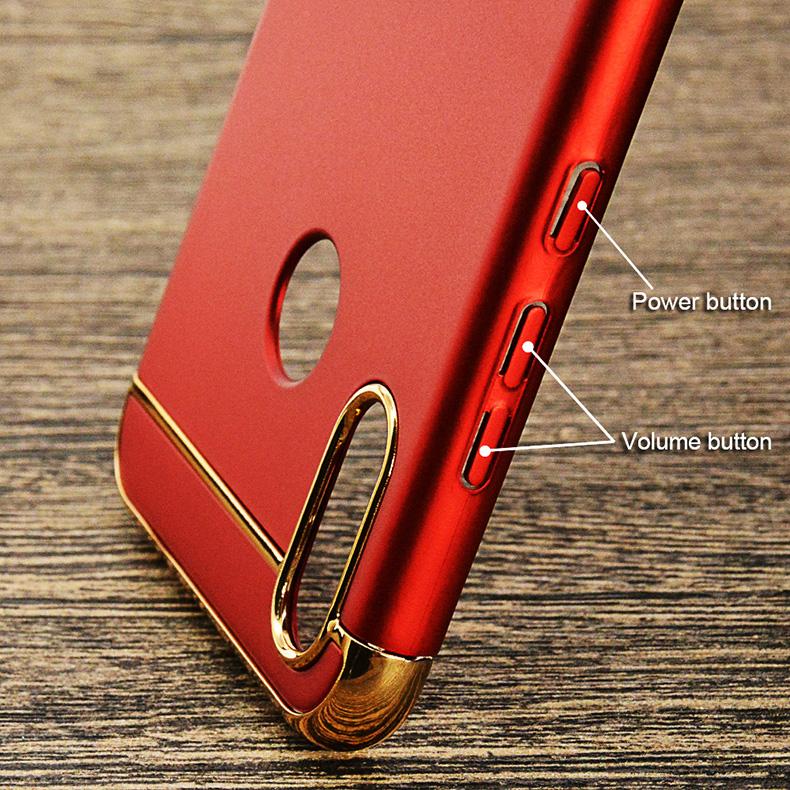 premium selection 15258 bdbeb Xiaomi Pocophone F1 Redmi Note 6 Pro 3 in 1 Hard Case Cover Casing