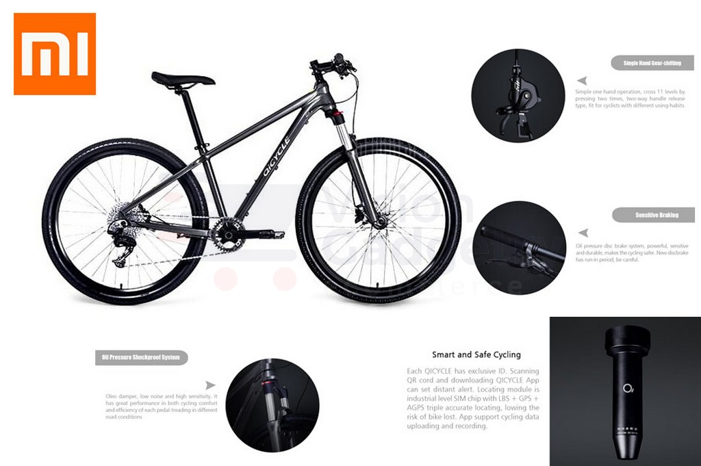 Xiaomi QICYCLE Smart Mountain Bike B (end 5/16/2020 3:43 PM)