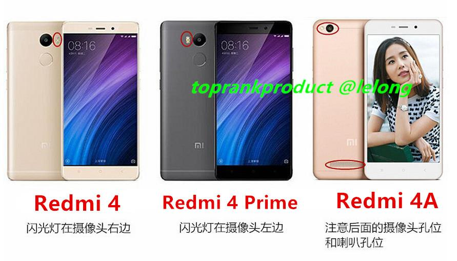 Xiaomi Redmi 4 4A Prime Silicone Case Cover Casing +Tempered Glass